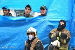 باشگاه خبرنگاران - ادامه عملیات امداد و نجات در ساختمان پلاسکو