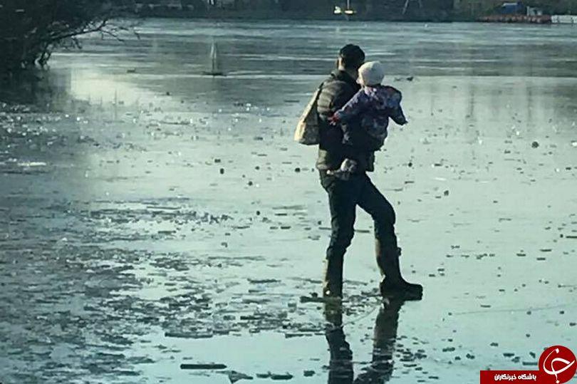 مرد نادان با حماقتش زندگی نوزادش  را به خطر انداخت+ تصاویر