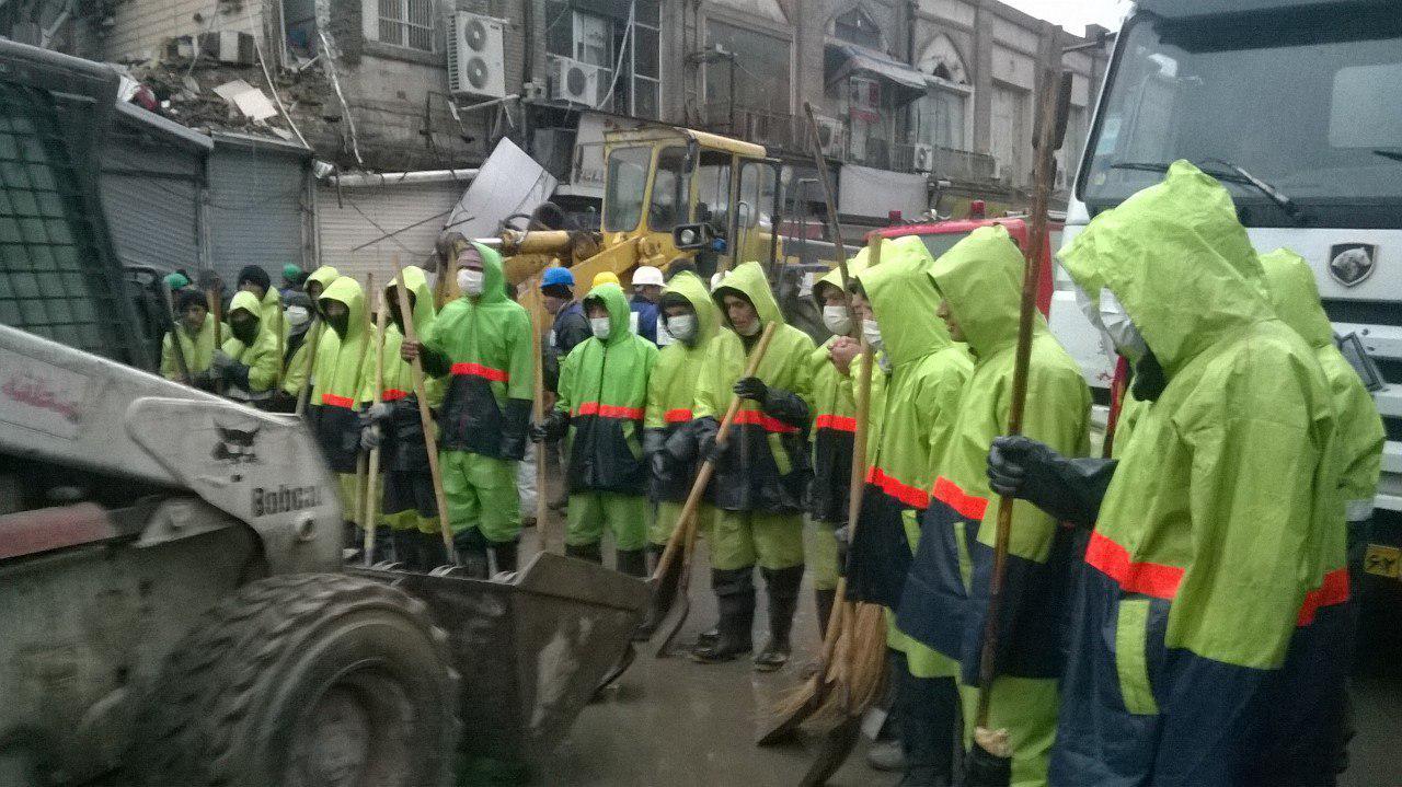 تردد در خیابان جمهوری از فردا عادی میشود/ اتمام عملیات آواربرداری پلاسکو