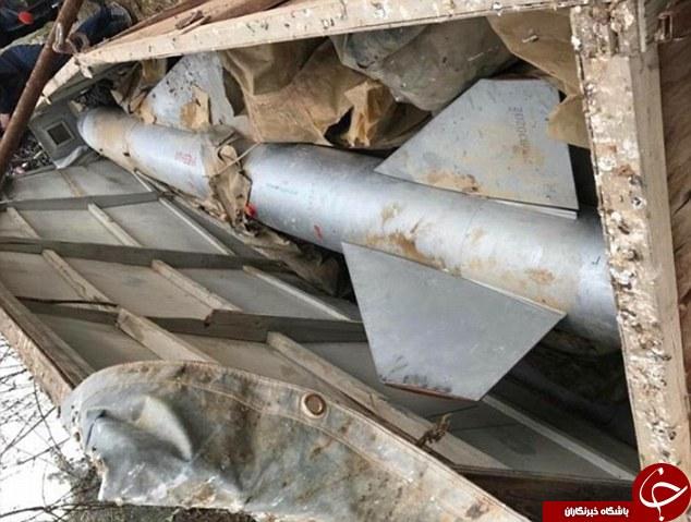 کشف زرادخانه شیمیایی داعش در عراق +تصاویر