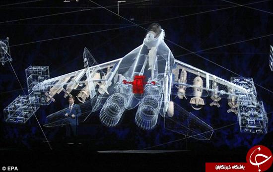 جت جنگنده روس رونمایی شد +تصاویر