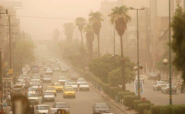 Image result for گرد و خاک در بوشهر