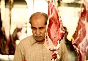 مسیر بازار گوشت در شب عید