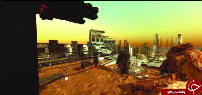حاکم دوبی در مریخ شهر میسازد +تصاویر