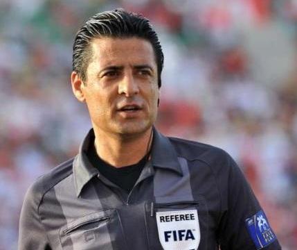 دعوت فیفا از فغانی در سمینار داوران جام جهانی 2018 روسیه