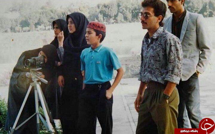 تیپ اصغر فرهادی در دهه شصت + عکس