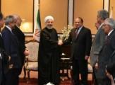 باشگاه خبرنگاران -روحانی و نواز شریف بر گسترش بیش از پیش روابط ایران و پاکستان تاکید کردند