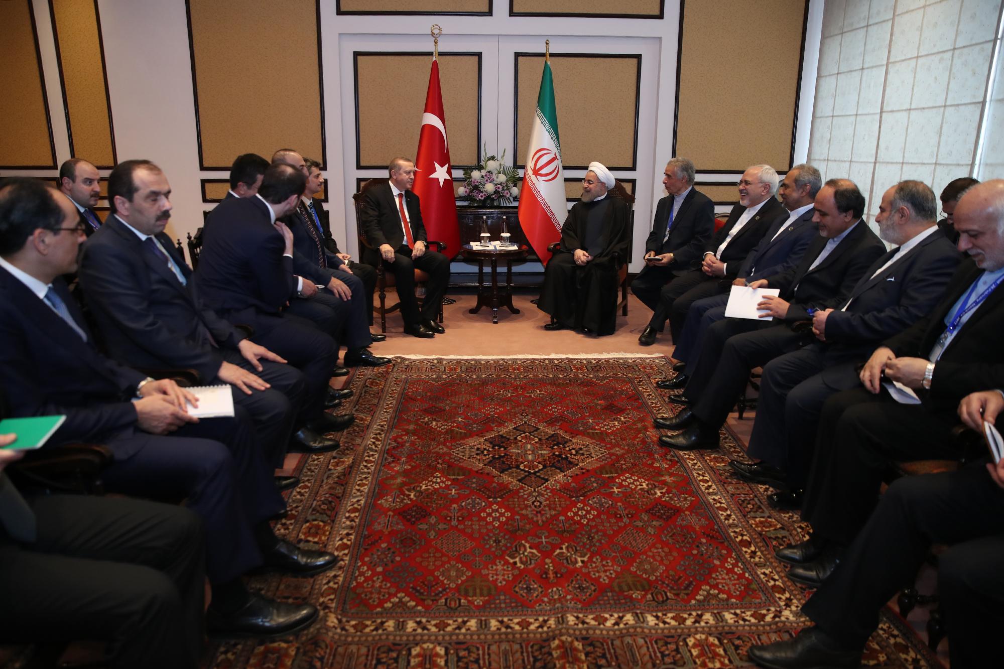 : توسعه روابط تهران - آنکارا به نفع ثبات منطقه است/ اردوغان: برای تحقق روابط اقتصادی 30 میلیارد دلاری با ایران مصمم هستیم
