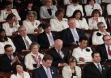 باشگاه خبرنگاران -زنان دموکرات کنگره به این دلیل برای استقبال از ترامپ سفید پوشیدند!