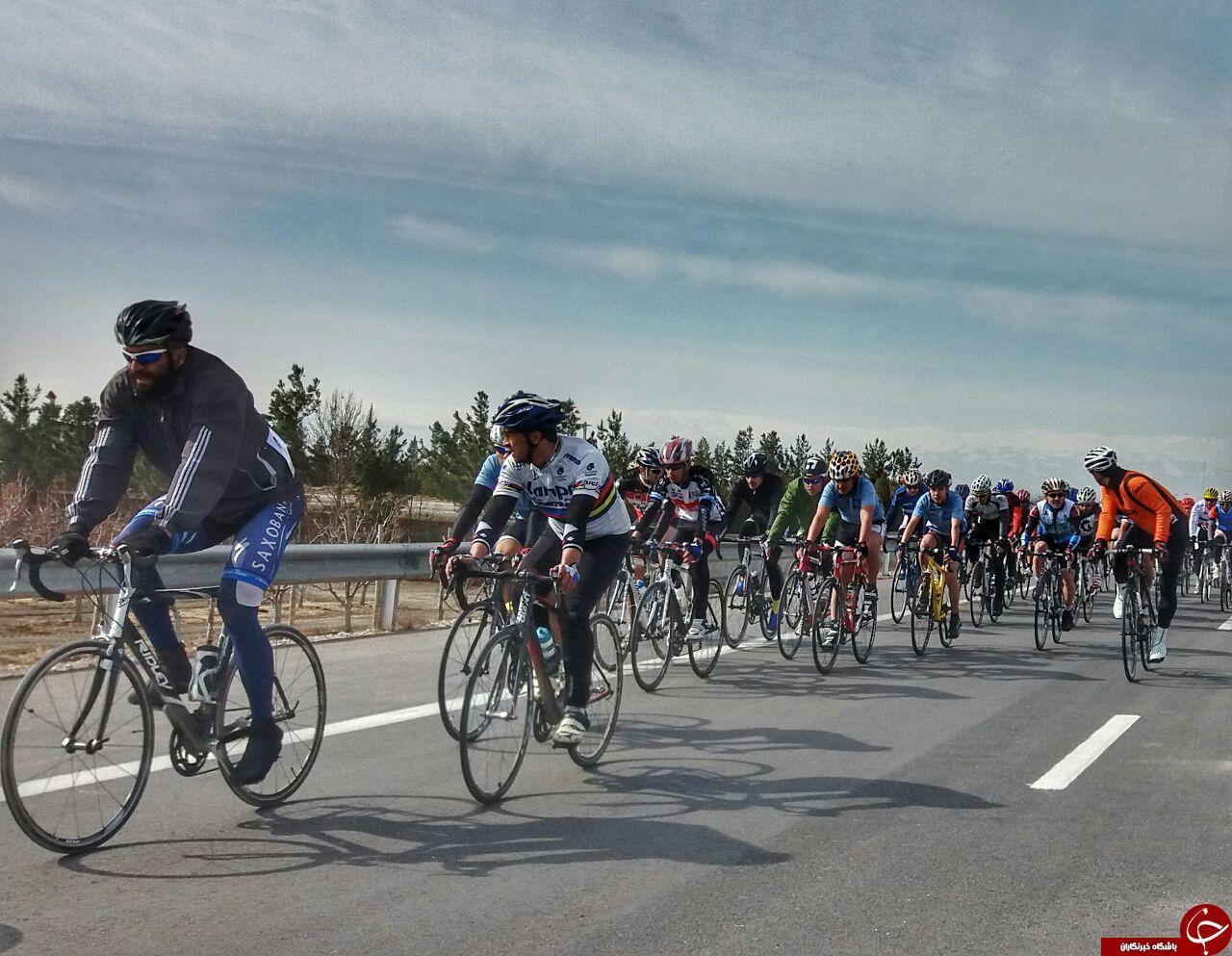 برگزاری مسابقات دوچرخه سواری استقامت جاده در مشهد