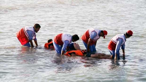 نجات جوان از مرگ حتمی در رودخانه دز