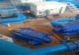 تعمیر و بازسازی ایستگاه های پمپاژ آب دوگنبدان
