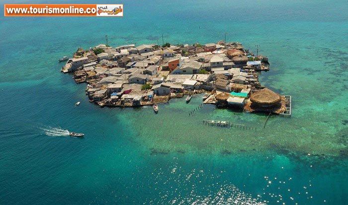 پرجمعیت ترین جزیره کوچک جهان! +تصاویر