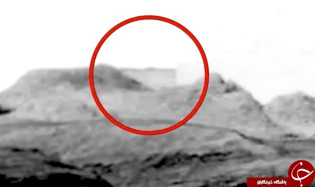 کشف ساختمان متعلق به موجودات فضایی در مریخ + فیلم