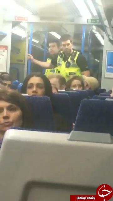 شوخی عجیب مسافر مترو باعث جار و جنجال شد + تصاویر