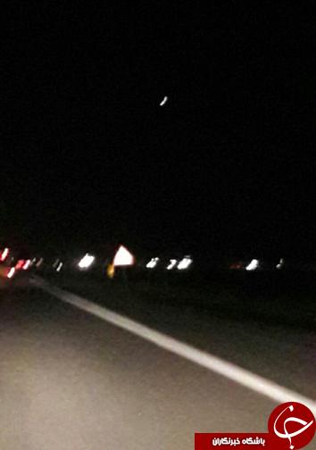 مشاهده یک شی نورانی از سمت آرامگاه کوروش + تصاویر