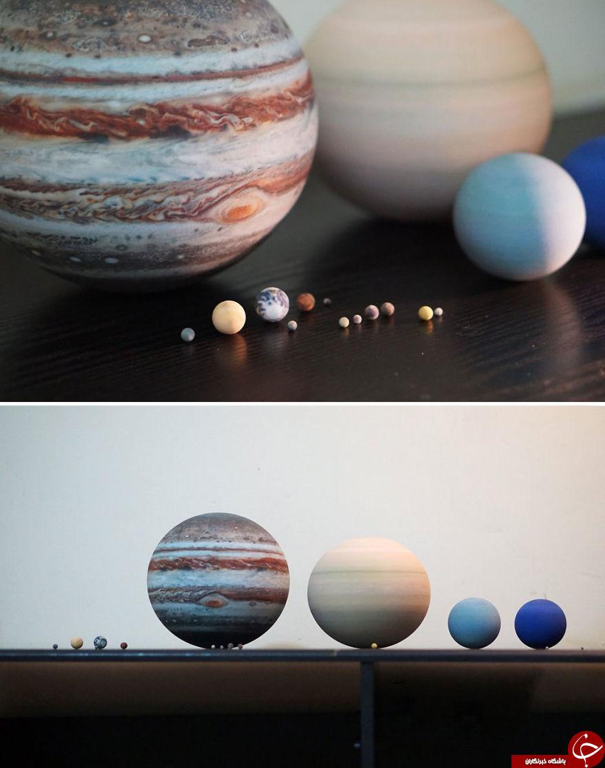 ماکت سیارات