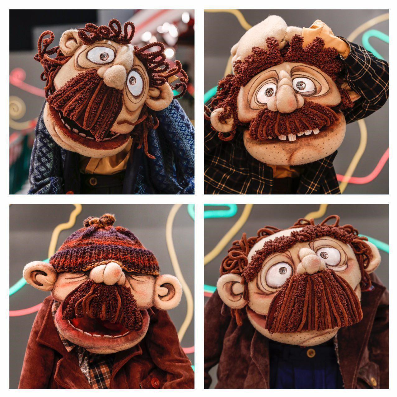 رونمایی جوان از چهار عروسک جدید «خندوانه»/ حجازی: شاید بازیگری را تجربه کنم