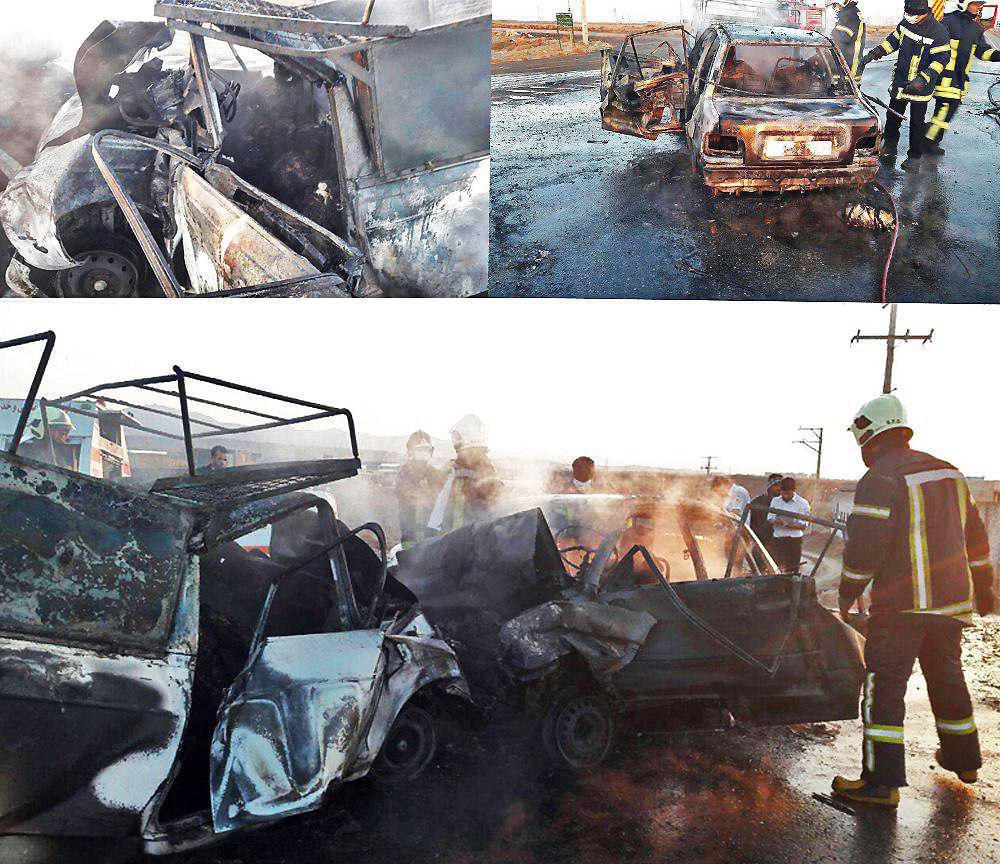 تصادف در محور سبزوار-اسفراین ۷ کشته داشت