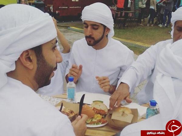 غذای مخصوص پسرِ امیرِ دوبی چیست؟