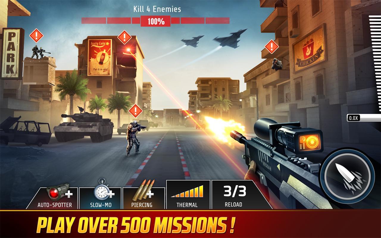 دانلود  Kill Shot Bravo برای اندروید و Ios ؛  بازی تک تیرانداز مهیج و پرطرفدار