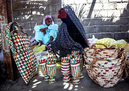 پنجشنبه بازار میناب تجلی گاه هنر مردمان دیار نخل و آفتاب