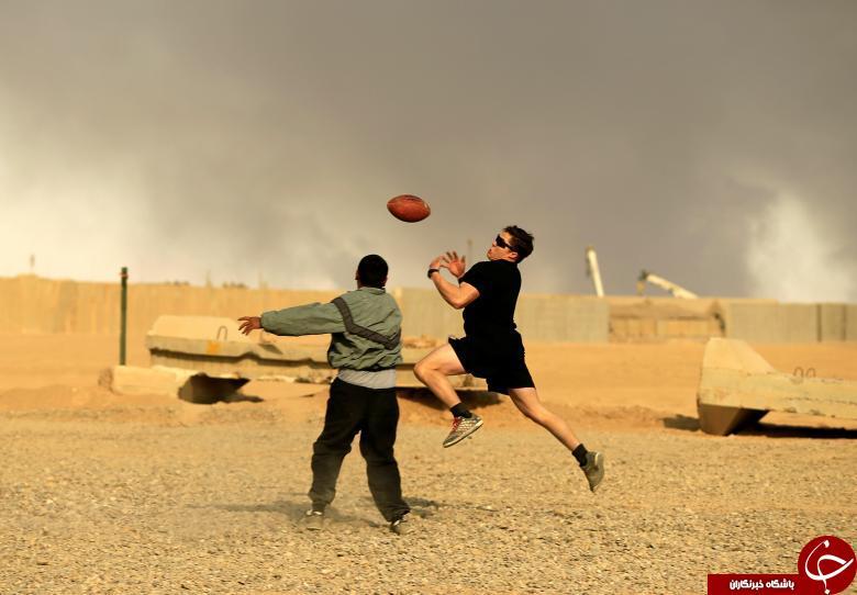 مبارزه با تروریسم با توپ راگبی و سیگار برگ!+ تصاویر