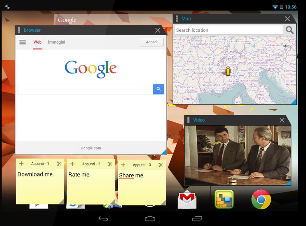 دانلود Multitasking Pro برای اندروید؛بازکردن صفحات مختلف مانند ویندوز در گوشی