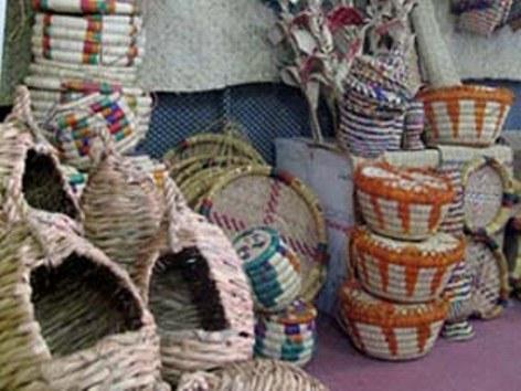 صنایع دستی هرمزگان سوغاتی از نخل و دریا