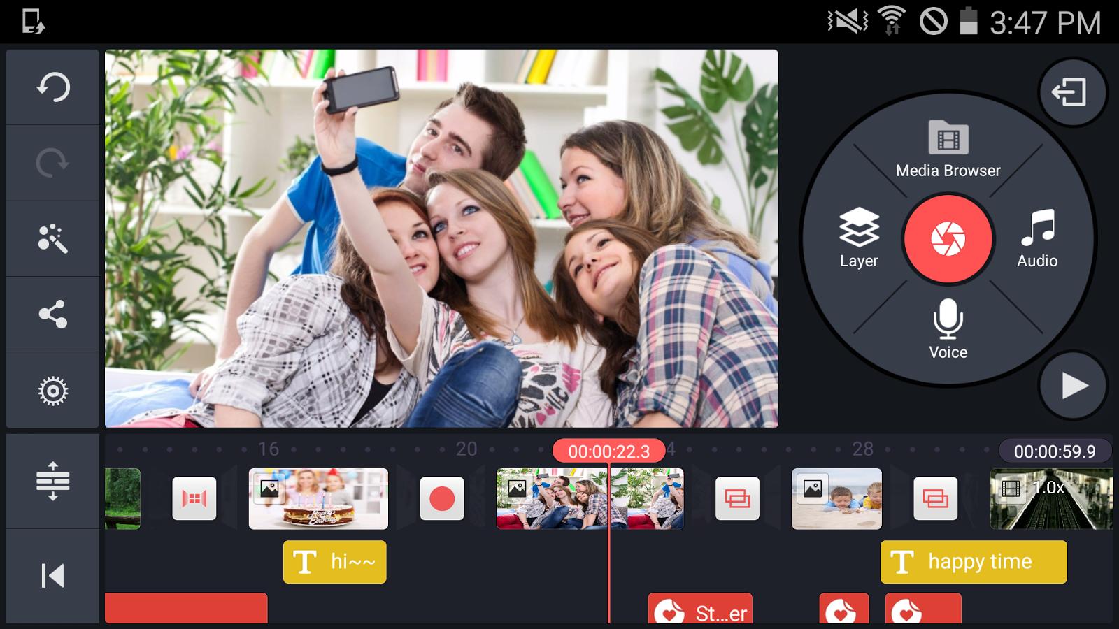 دانلود KineMaster Pro  برای اندروید؛ حرفهای ترین ویرایشگر فیلم گوشیهای هوشمند