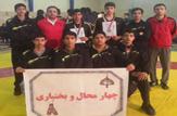 باشگاه خبرنگاران - کسب مقام پنجم تیمی در رقابتهای پهلوانی و زورخانهای دانشآموزان