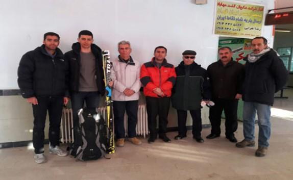 باشگاه خبرنگاران - اعزام اسکی باز مهابادی به مسابقات جهانی اسکی