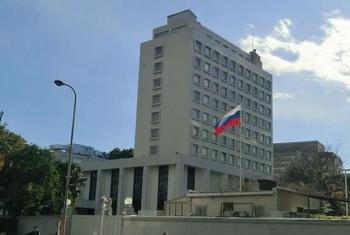 اصابت راکت به اطراف سفارت روسیه در دمشق