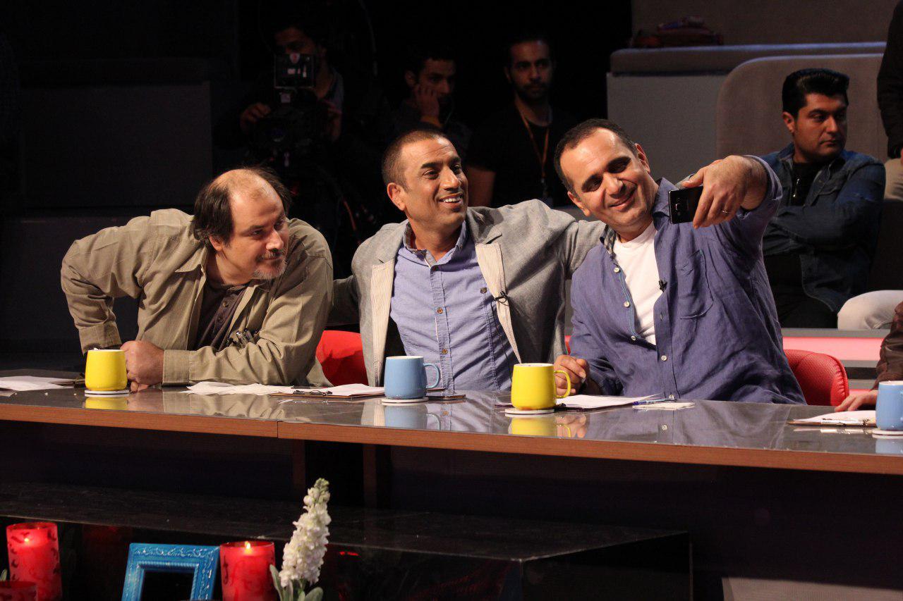 تصاویر جدید از مسابقه  «زمانی برای خندیدن»