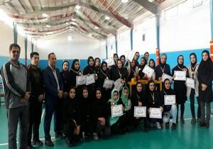 پایان رقابت های مچ اندازی بانوان خراسان جنوبی