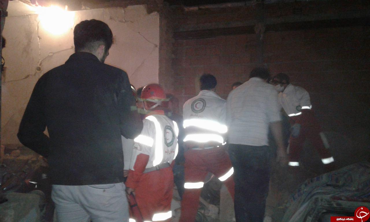 7 قربانی در تخریب ساختمان مسکونی + تصاویر