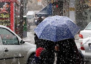 بارش باران در 11 استان/ هوای تهران امروز بارانی می شود