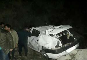 چهار کشته و زخمی در تصادف جاده سی سخت