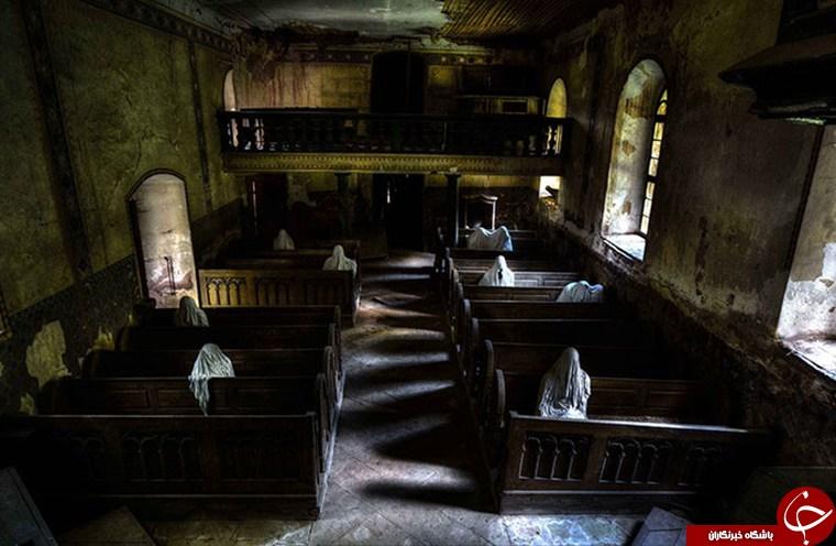 ترسناکترین کلیسای جهان +فیلم و تصاویر