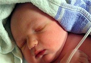 تولد نوزاد با بیش از 5 کیلوگرم در بیمارستان