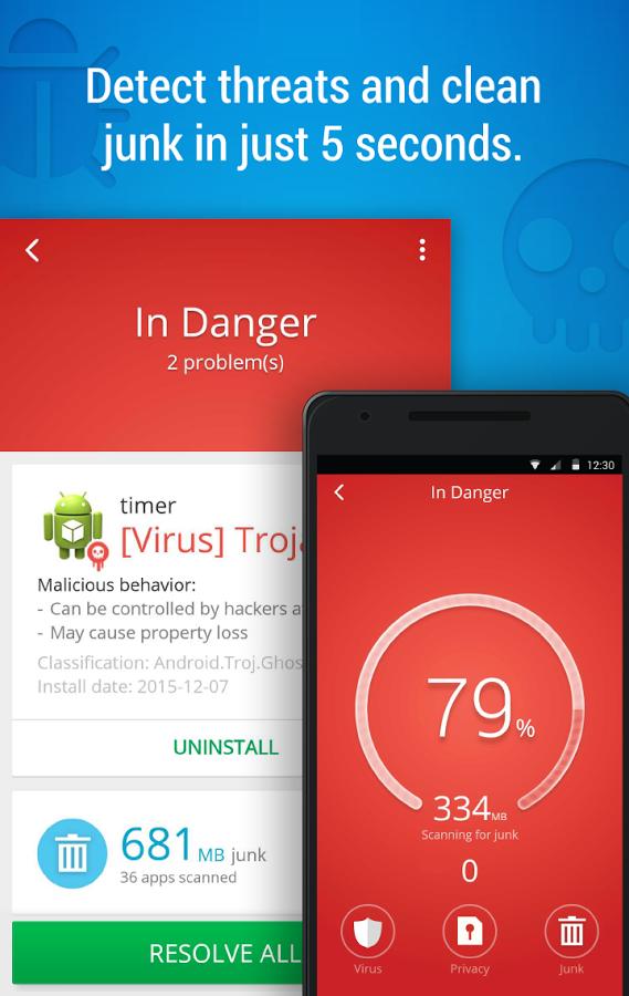 نسخه جدید CM Security بهترین آنتی ویروس آندرویدی + دانلود