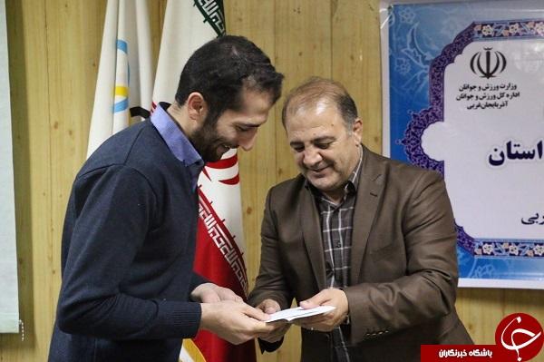 خبرنگاران و رسانههای حوزه ورزش استان آذربایجان غربی تجلیل شدند