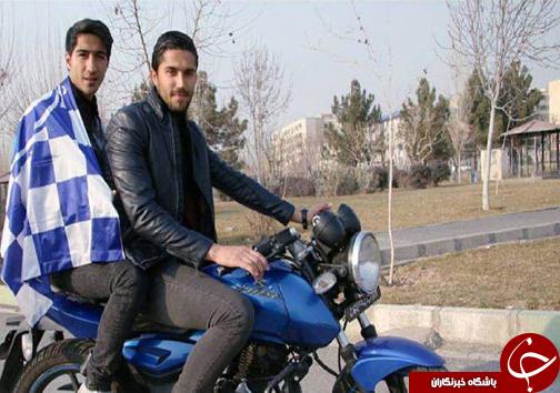 موتورسواری دو ستاره استقلال+عکس