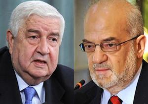 گفتگوی تلفنی وزرای امور خارجه سوریه و عراق