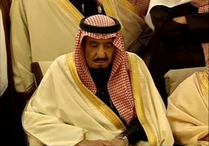 حرکت خنده دارِ امیر عربستان در مقابل نخست وزیر ژاپن