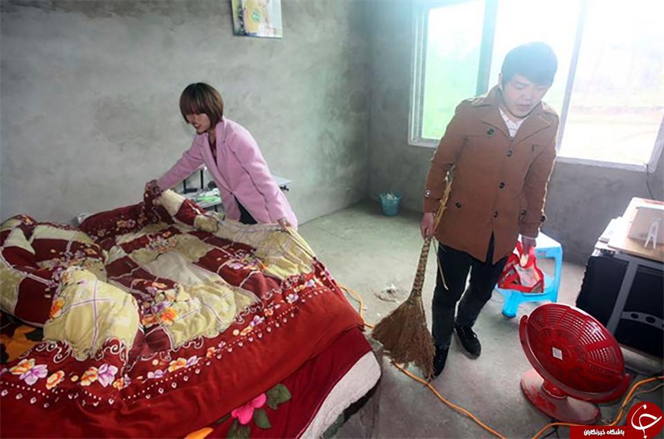 دختر بدشانس چینی سرانجام عشق واقعی اش را پیدا کرد + تصاویر