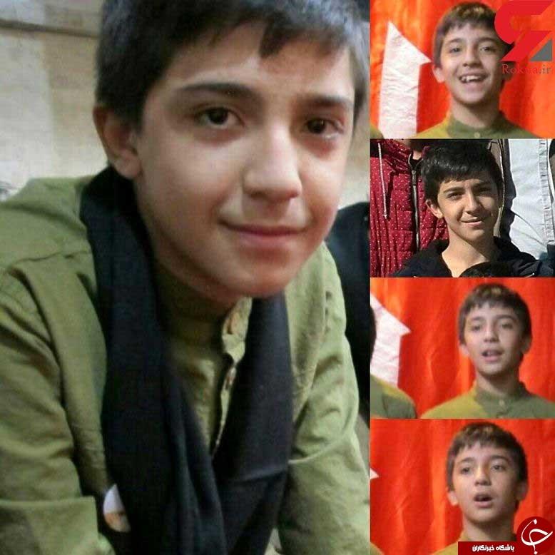 عکس امیر حسین 14 ساله نخستین قربانی چهارشنبه سوری تهران + جزئیات حادثه