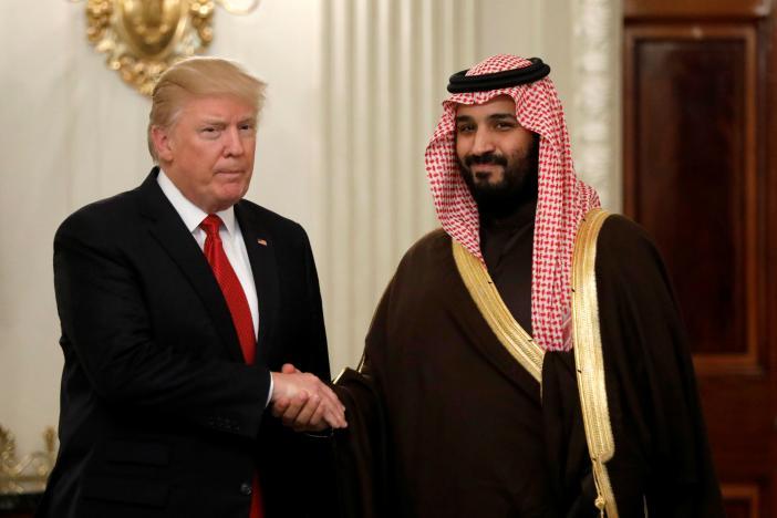 مقابله با «تحرکات منطقهای ایران»؛ محور گفتگوی محمد بن سلمان و ترامپ در کاخ سفید