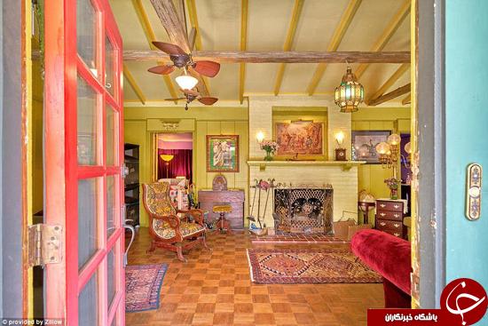 رنگارنگترین خانه آمریکا +تصاویر