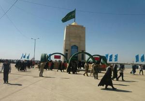 نصب یادمان شهید مدافع حرم در خان طومان